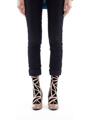 画像1: Triangle socks