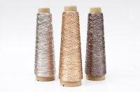 金属のような輝き 和紙×レーヨン-ラメ糸-「あたかも」